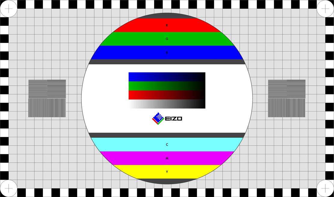 EIZO Monitor-Test im Browser